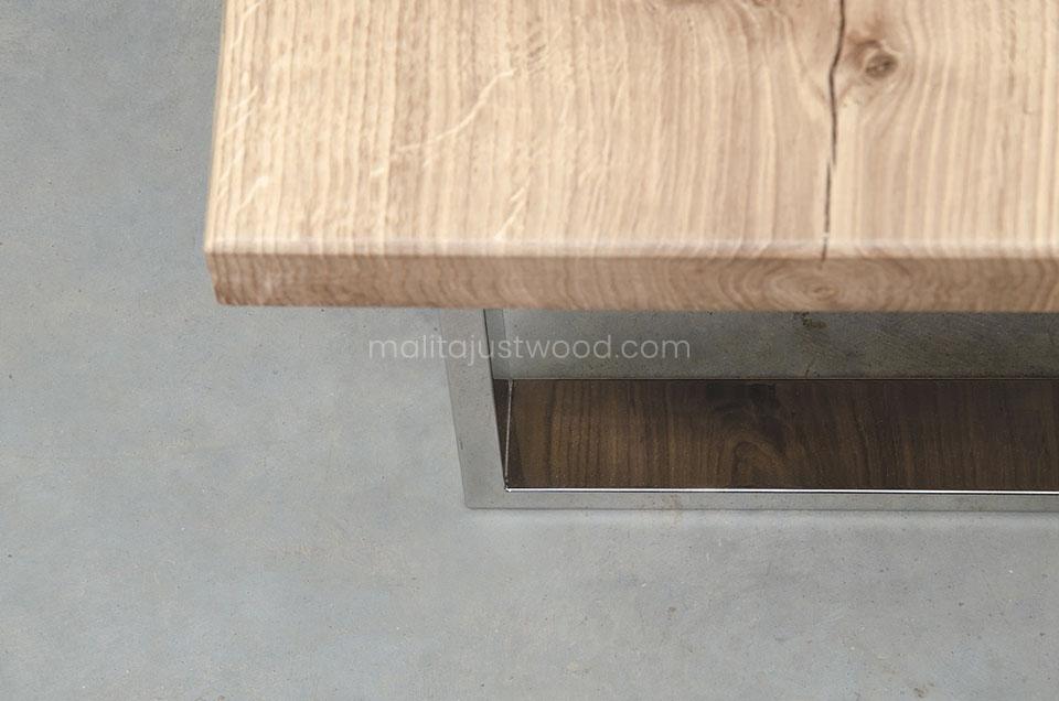 stolik Parvus z drewna dębowego