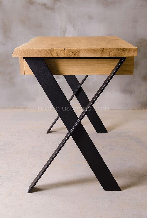 nowoczesne biurko Navigo z drewna