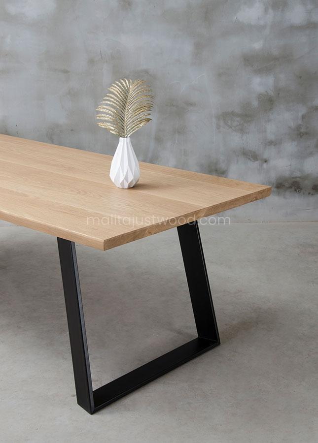 rozkładany stół Clamo dębowy naturalny olej