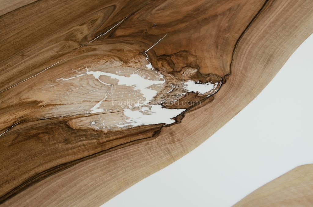 nowoczesny stół Concordia z żywicy i drewna konferencyjny
