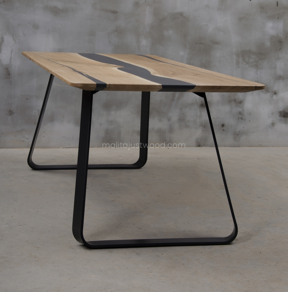 nowoczesny stół Libenter żywica epoksydowa
