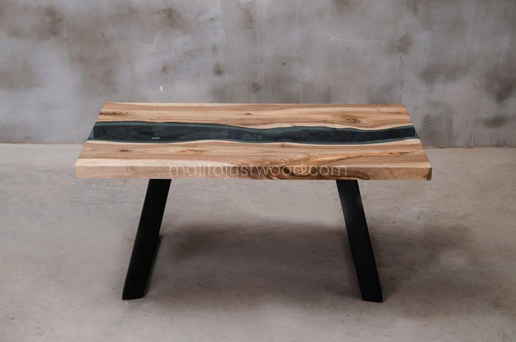 stolik Locus ze szklanym blatem