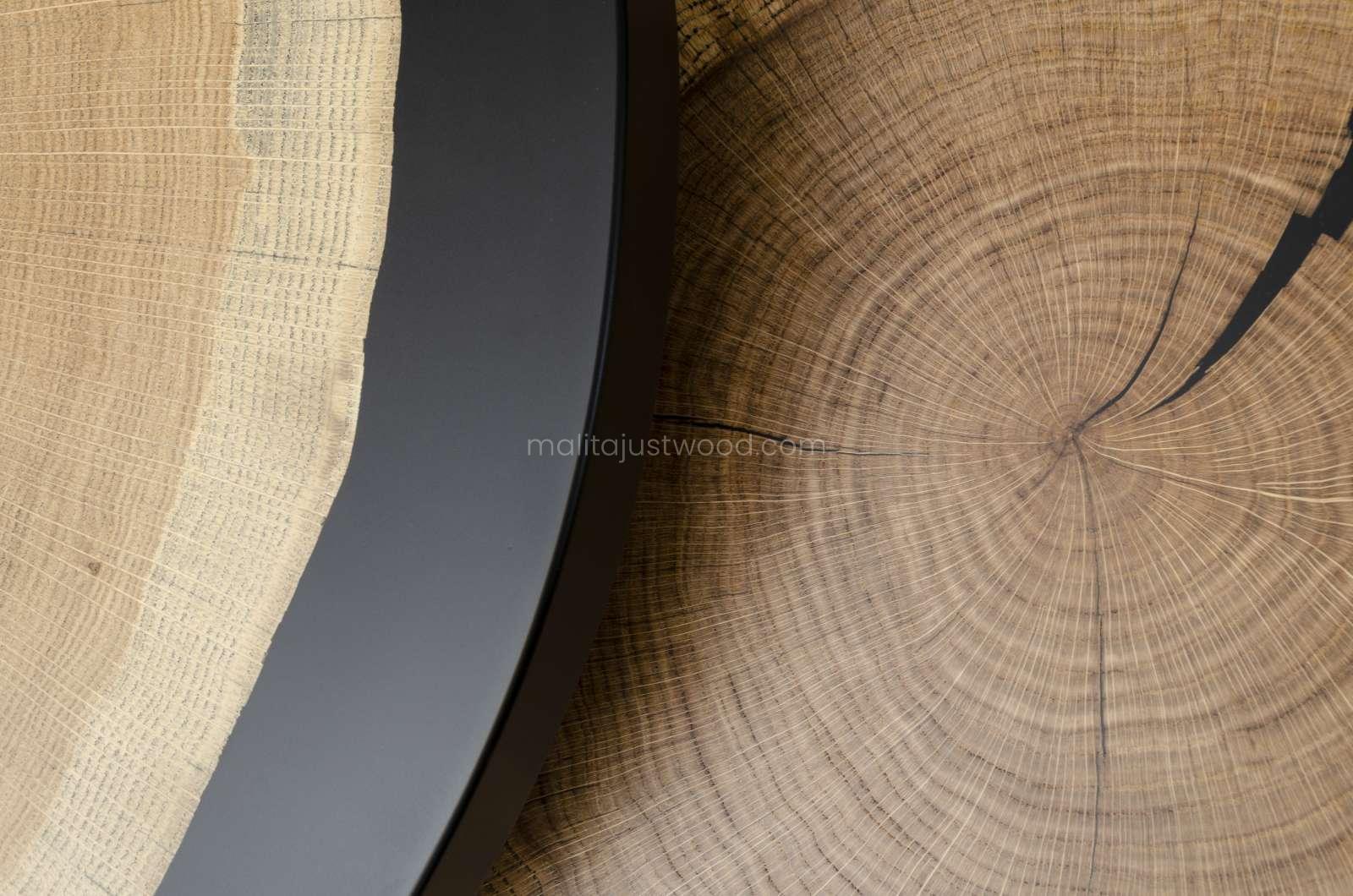 drewniane stoliki duo na zamówienie
