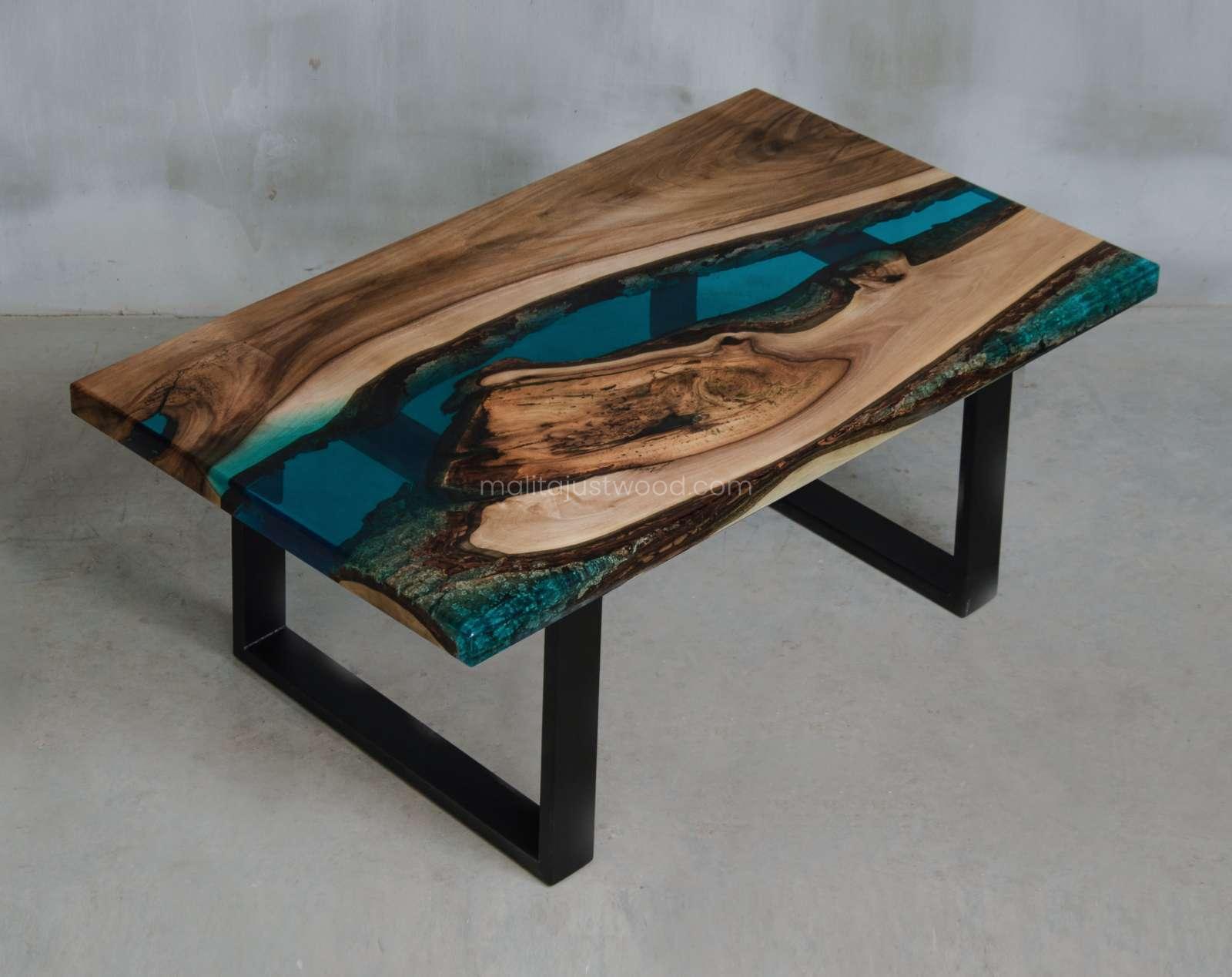 epoxy console table Mare