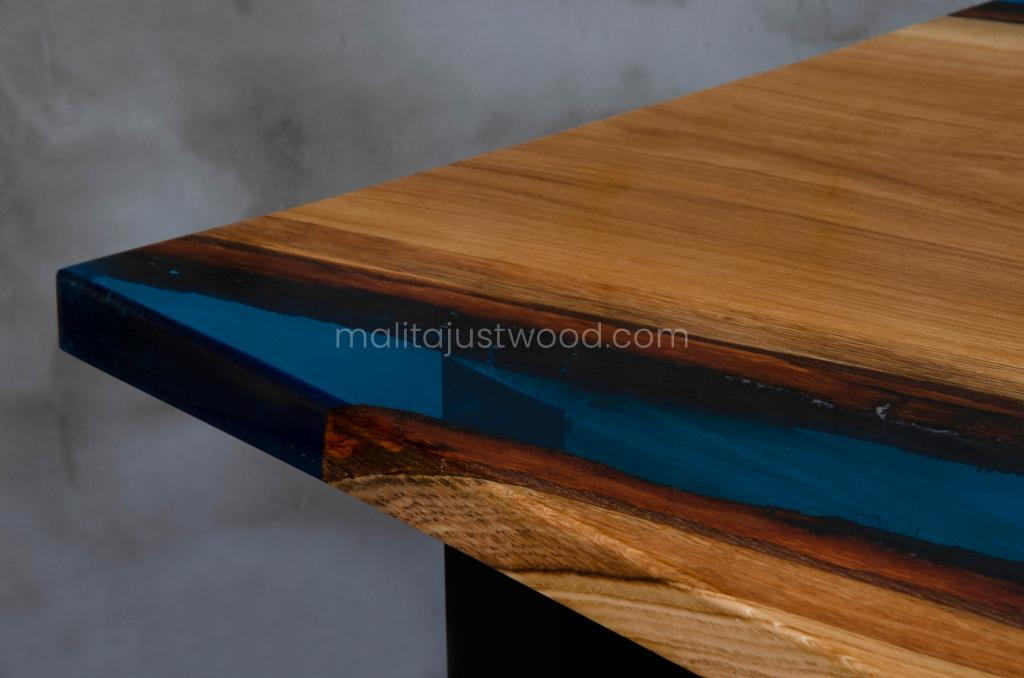 table tantum made of resin