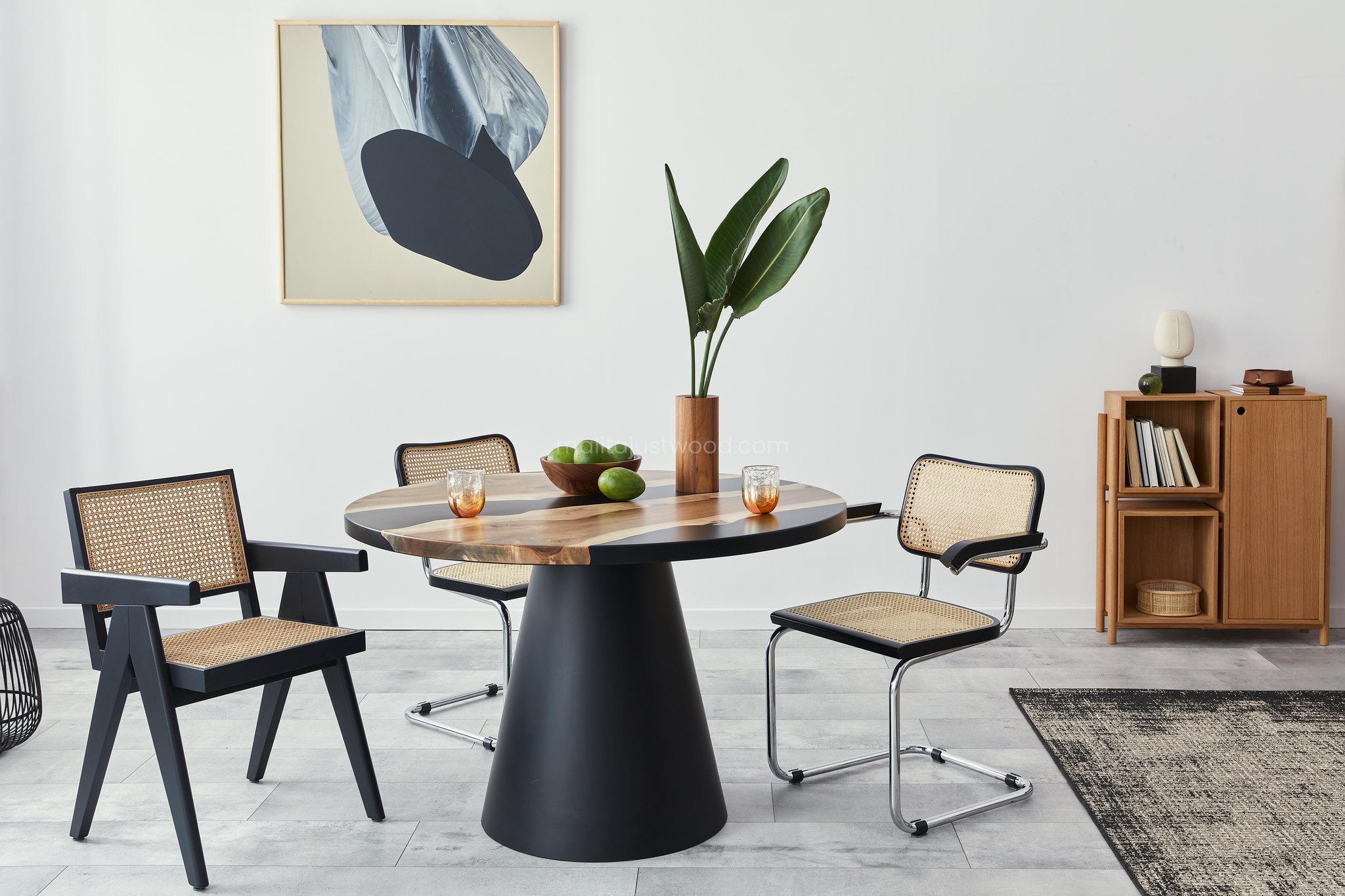 Stół lotus minimalizm i awangarda inspiracje wnętrz